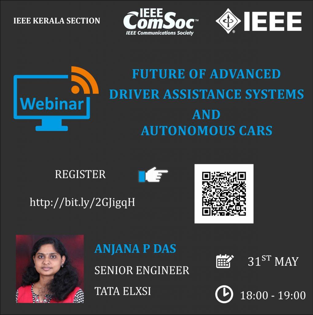 Webinar – Future of advanced driver assistance systems and autonomous cars