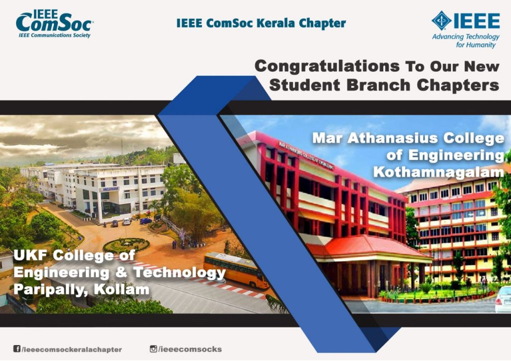 New ComSoc Chapters Inaugurated at MACE and UKFCET