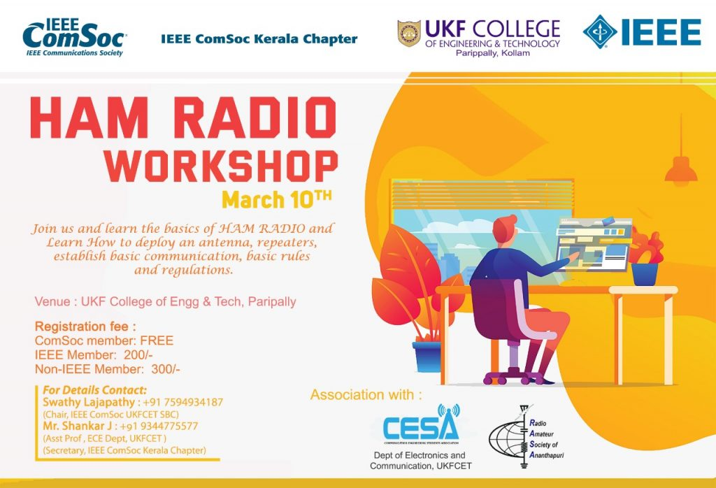 Ham Radio Workshop at UKFCET