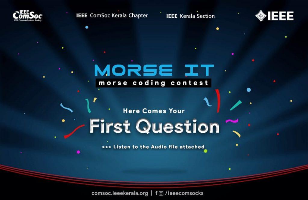 Morse Code Contest-1
