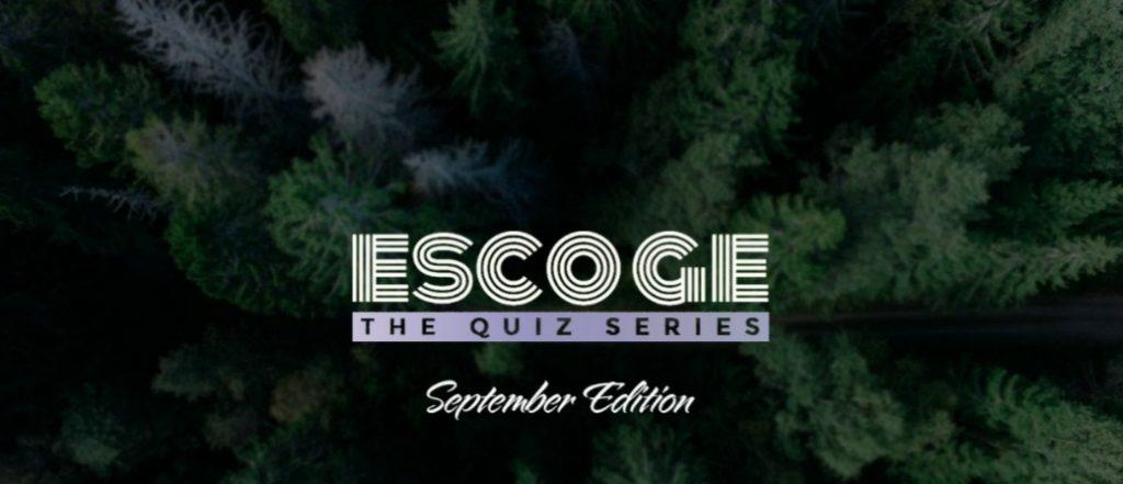 Escoge September Edition