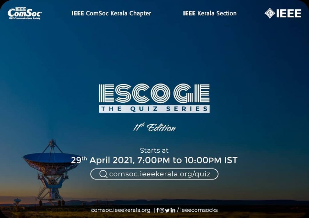 ESCOGE APRIL EDITION